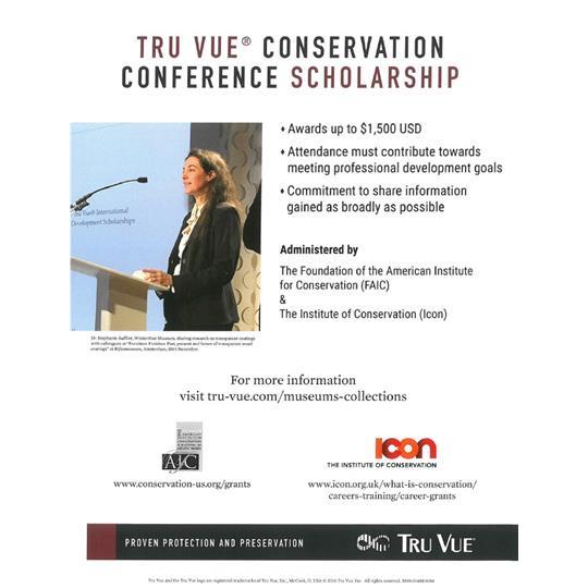 Conservation Conference Scholarship Flyer