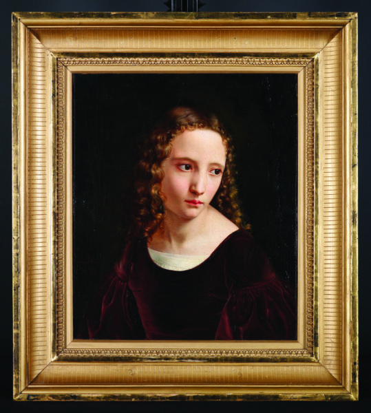 Madchenkopf (Portrait of a Girl)